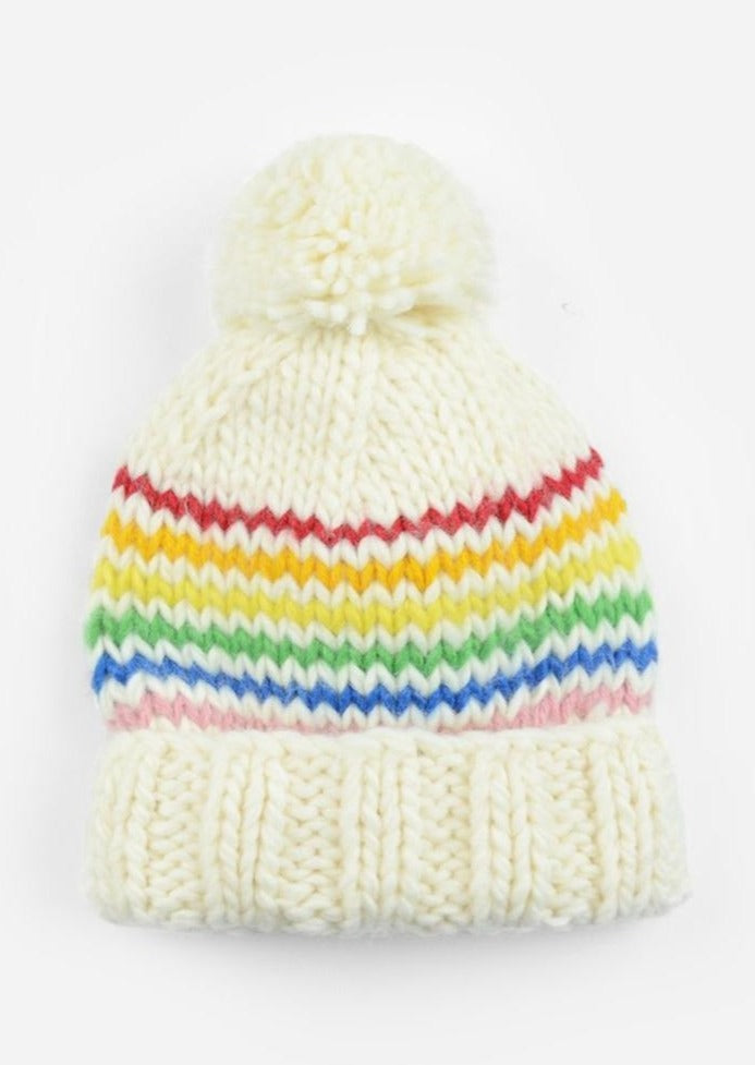 The Blueberry Hill Reagan Rainbow Beanie