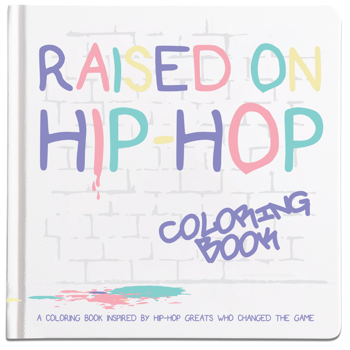 The Little Homie | Raised on Hip Hop Coloring Book