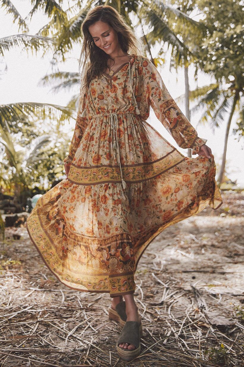 Spell & the Gypsy Collective | Seashell Gown | Sand