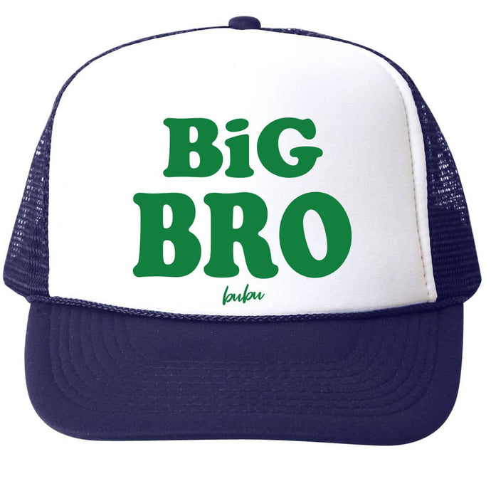 Bubu | Big Bro Navy Trucker Hat