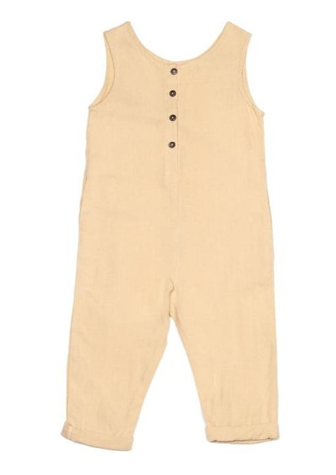 children of the tribe first flight linen jumpsuit