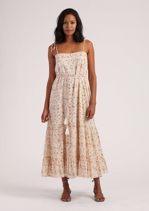 Cleobella India Midi Dress Victorian Floral