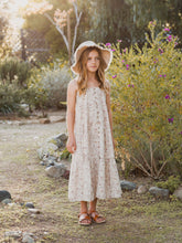 Rylee + Cru Dragon Fly Tiered Maxi Dress