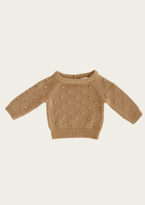 Jamie Kay | Dotty Knit | Latte