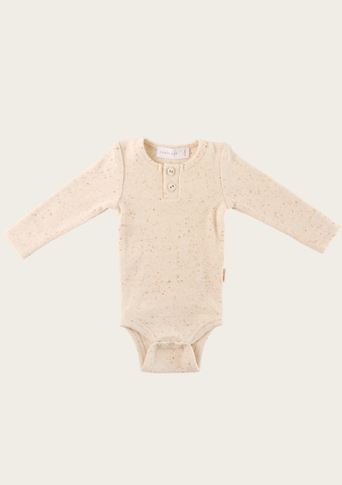 Jamie Kay Ribbed Bodysuit Peachy
