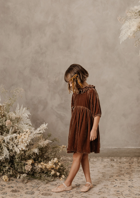Noralee adeline dress in wine
