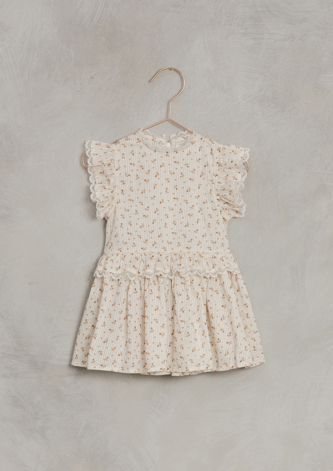 Noralee  | Gold Fleur Alice Dress | Shell