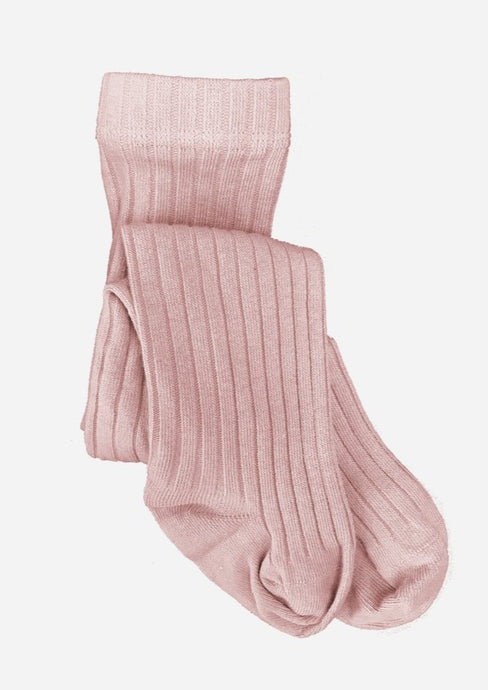 The Blueberry Hill Cotton Tights in Blush
