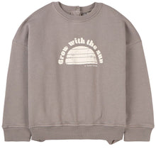 Tocoto Vintage Grow with the Sun Sweatshirt Brown