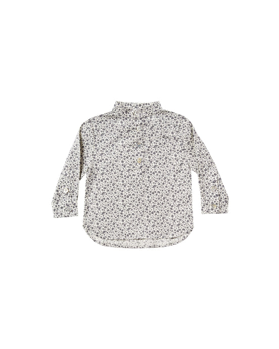 Rylee and Cru | flower field mason shirt | ivory