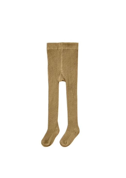 Rylee and Cru | Ribbed Knit Tights | Goldenrod
