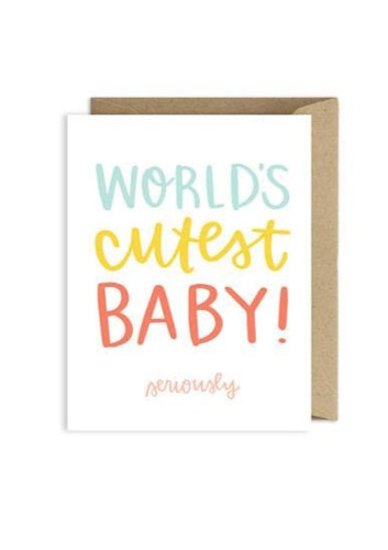 Alexa Zurcher | World's Cutest Baby Card