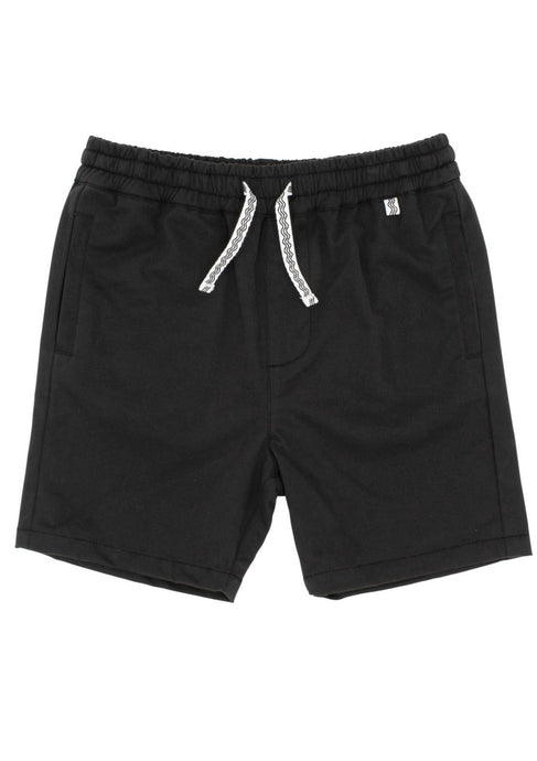 feather 4 arrow line up shorts in charcoal