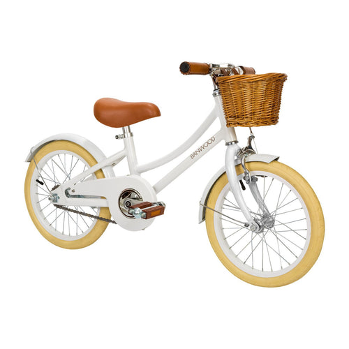 Banwood | Classic Pedal Bike | White