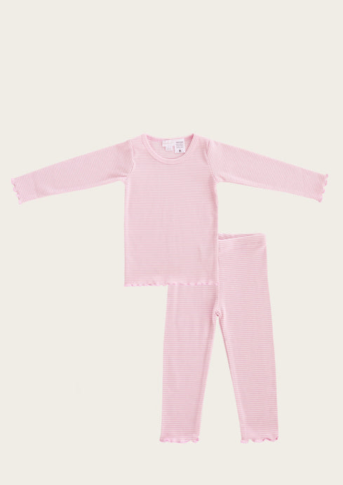 Jamie Kay Pajama set in Bubble Gum Stripe