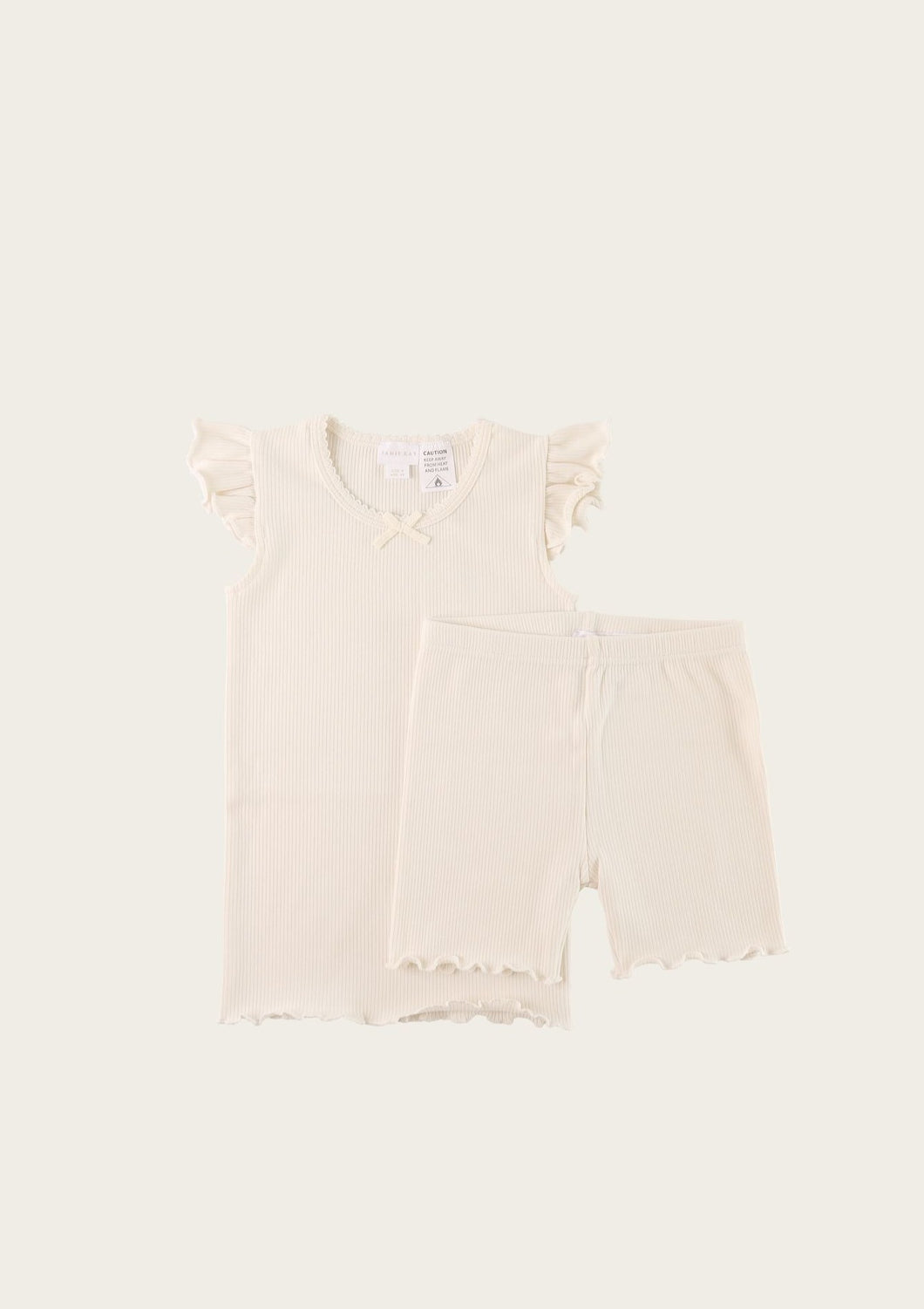 Jamie Kay Summer Pajama Set Off White