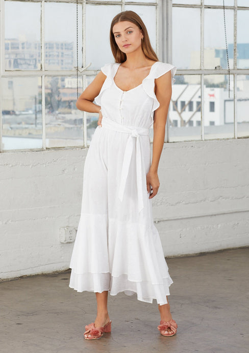 Cleobella | Karina Midi Dress | White