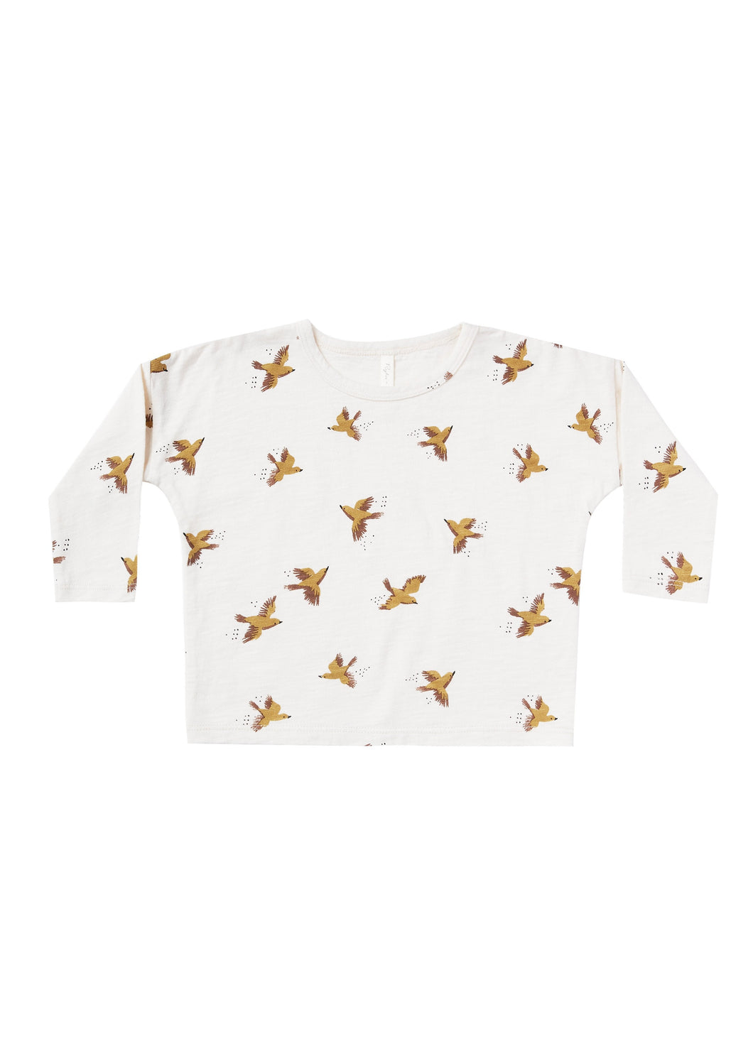 Rylee and Cru | Songbirds Boxy Tee | Ivory