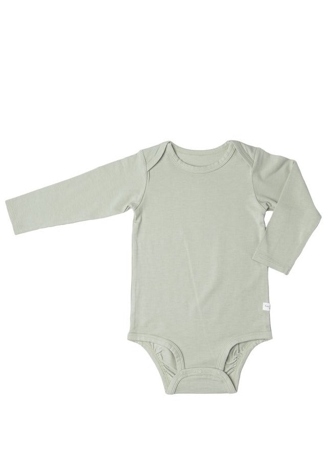loulou lollipop long sleeve bodysuit sage