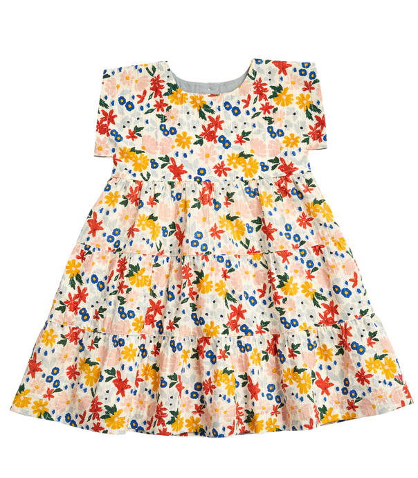 Pink Chicken | Peachy Dress | Multi Floral