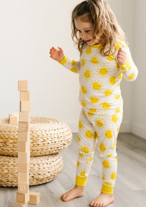 Little Sleepies Sunshine Two Piece Bamboo Pajama Set