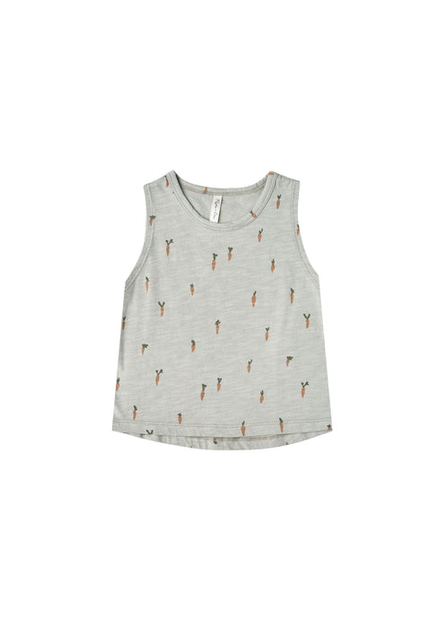 Rylee and Cru Carrots tank in blue fog