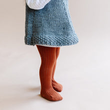 The Blueberry Hill | Cotton Tights | Cinnamon