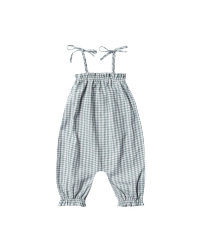 Rylee and Cru | Bubble Jumpsuit | Gingham