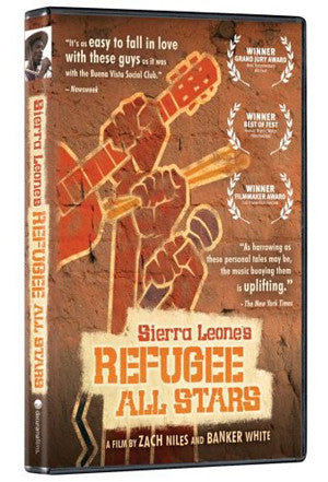 xSierra Leone's Refugee All Stars DVD (Public Viewing Edition)