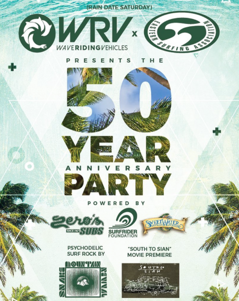 WRV 50 YEAR ANNIVERSARY PARTY