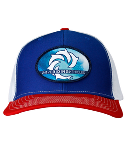 All Time Red/White/Blue Trucker