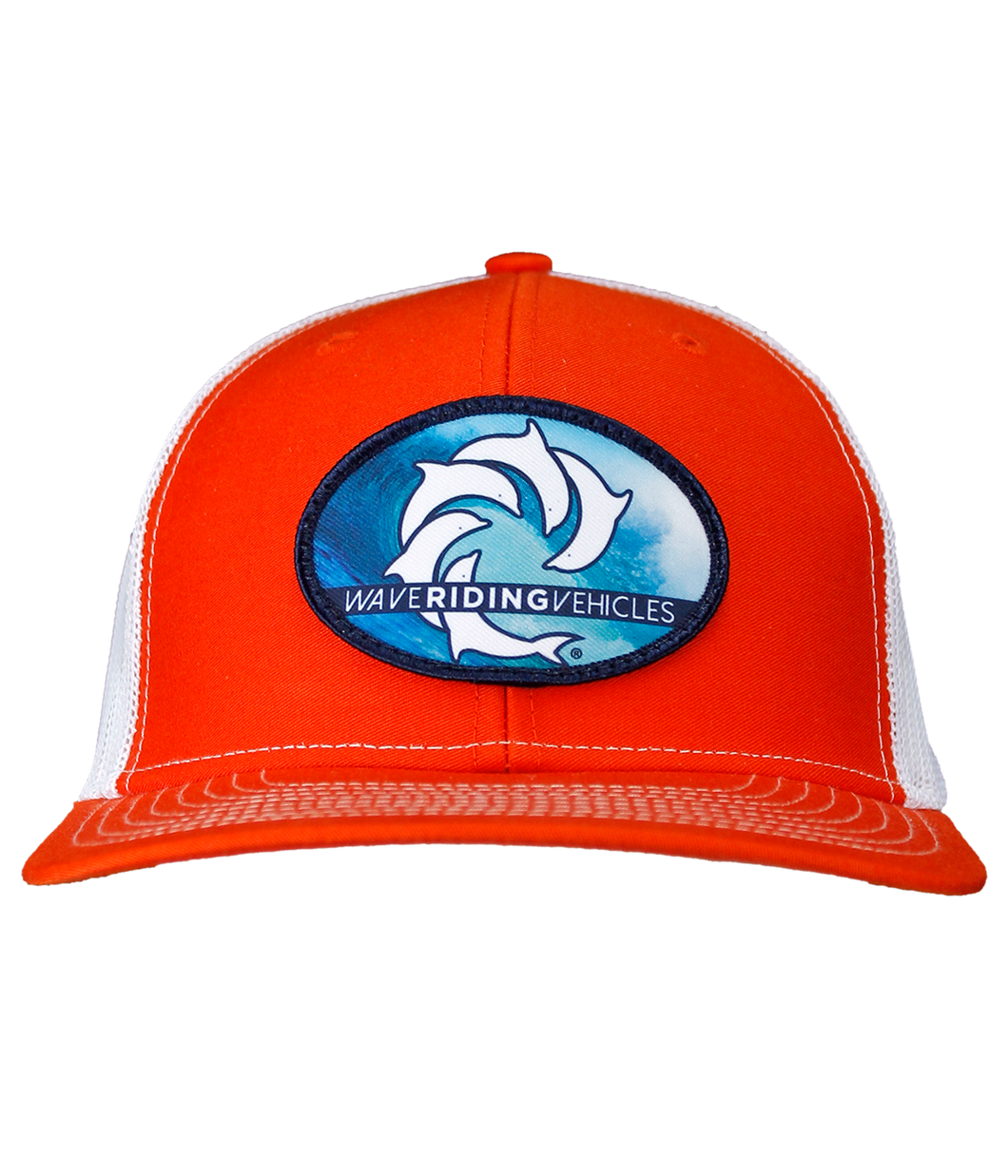 All Time Orange/White Trucker