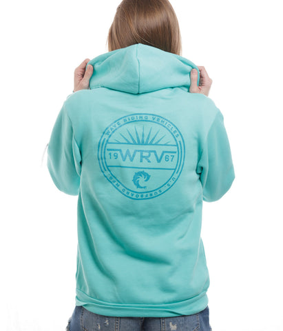 CHAIRMAN WOMENS ZIP HOOD
