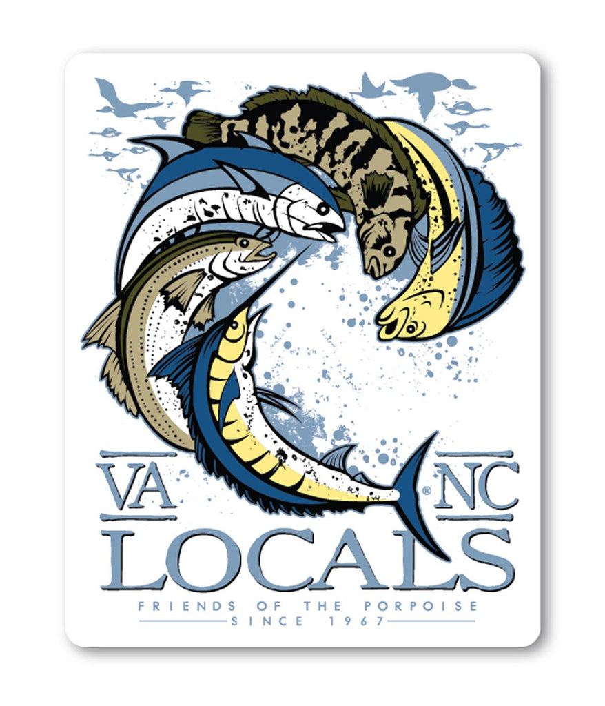 LOCALS DECAL