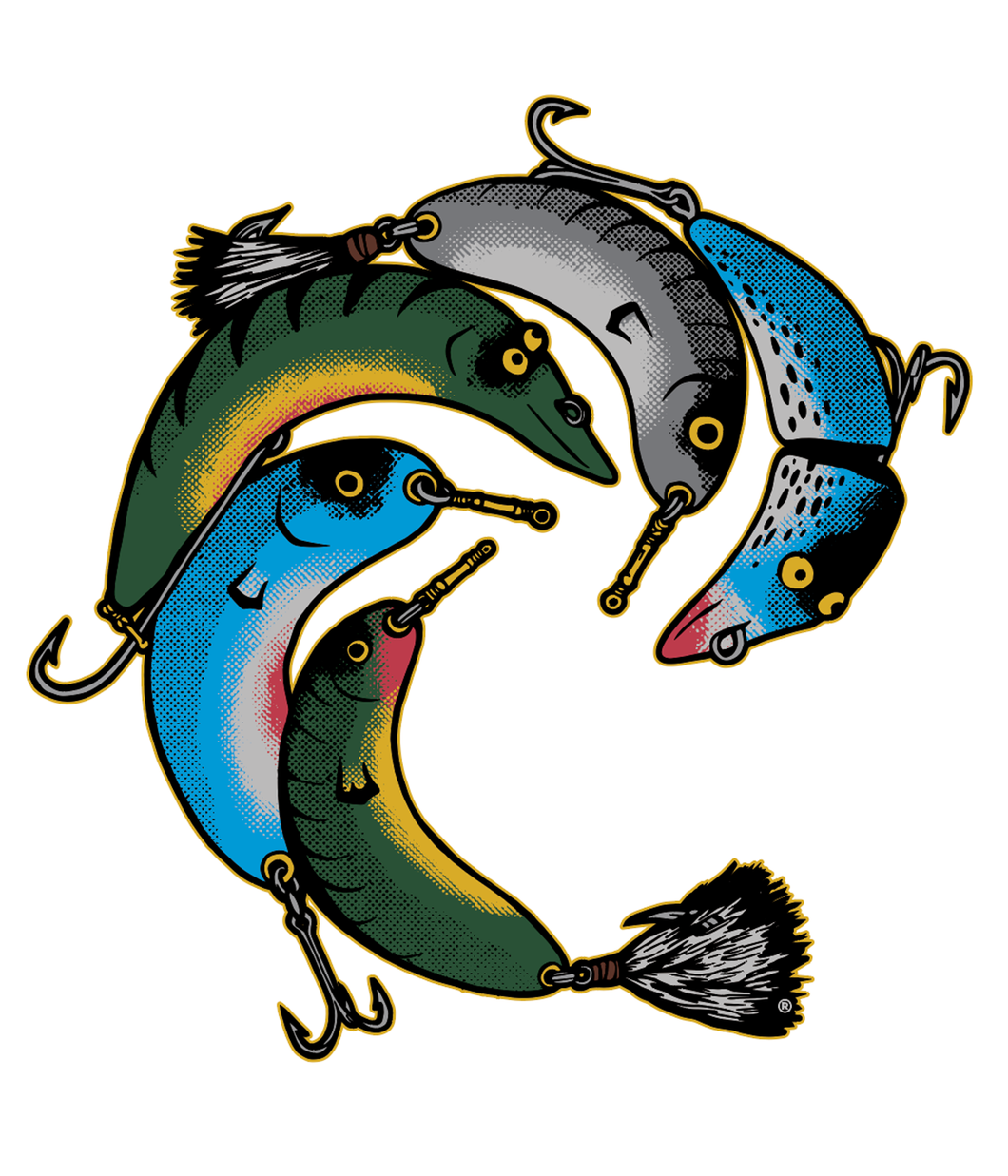 Lures Decal