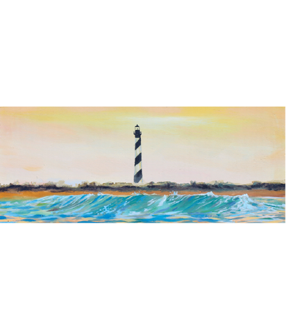 OUTSIDE - HATTERAS LIGHTHOUSE PRINT
