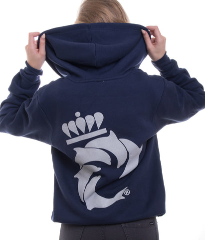 WAVE UNIVERSITY LADIES ZIP HOOD