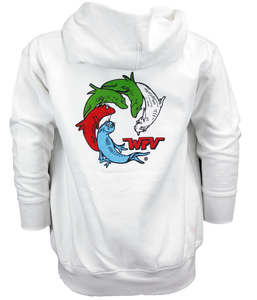 ONE FISH INFANT ZIP HOOD