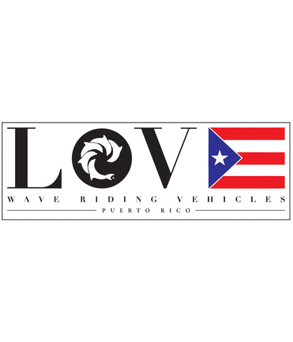 PR LOVE DECAL