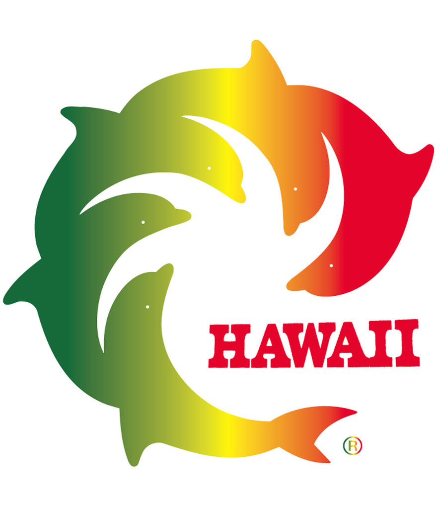 RASTA HAWAII DECAL
