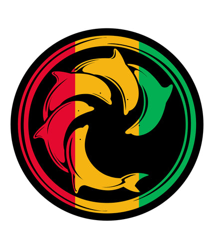 Rasta Panel Decal
