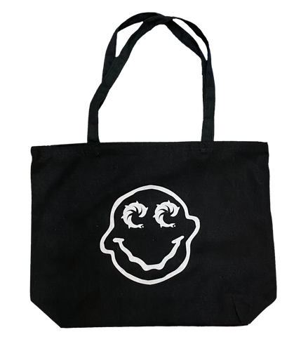 Smiley Canvas Tote