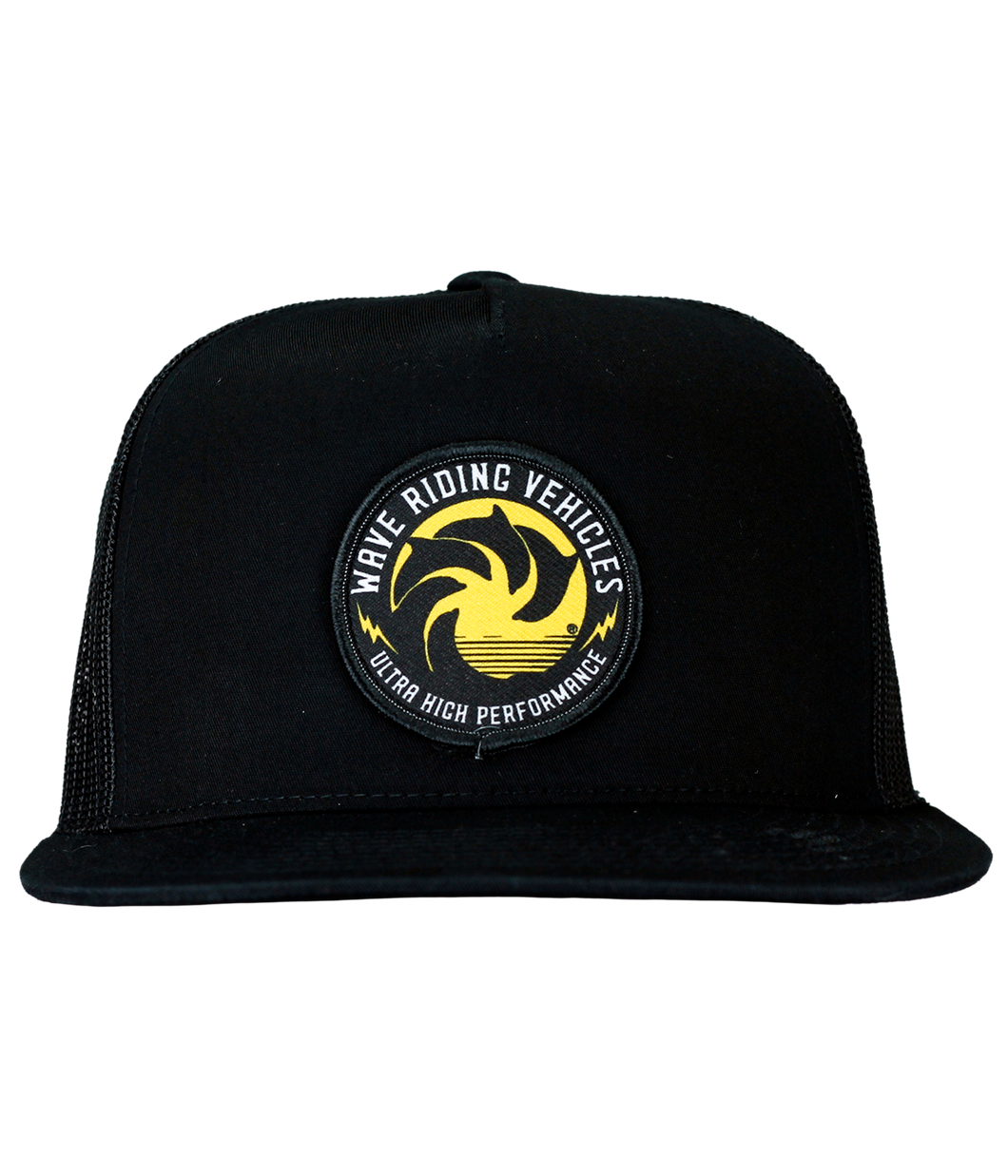 Ultra High Black Trucker Hat