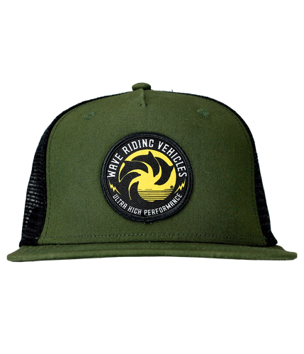 Ultra High Olive Trucker Hat
