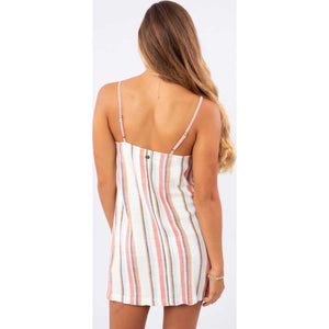 Seaport Stripe Dress in Multi