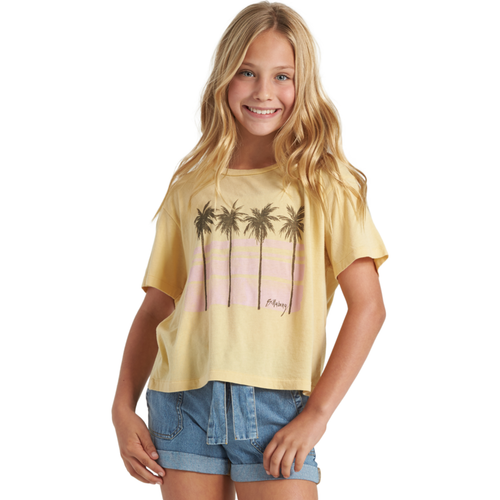 GIRLS POOLONG SLEEVEIDE VIEW TEE
