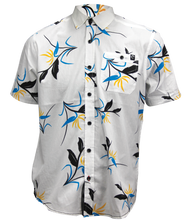 Birds of Paradise White S/S Woven