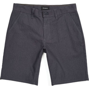 Toil II Hemmed Short - Grey Gingham