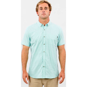 Ourtime Short Sleeve Shirt in Teal