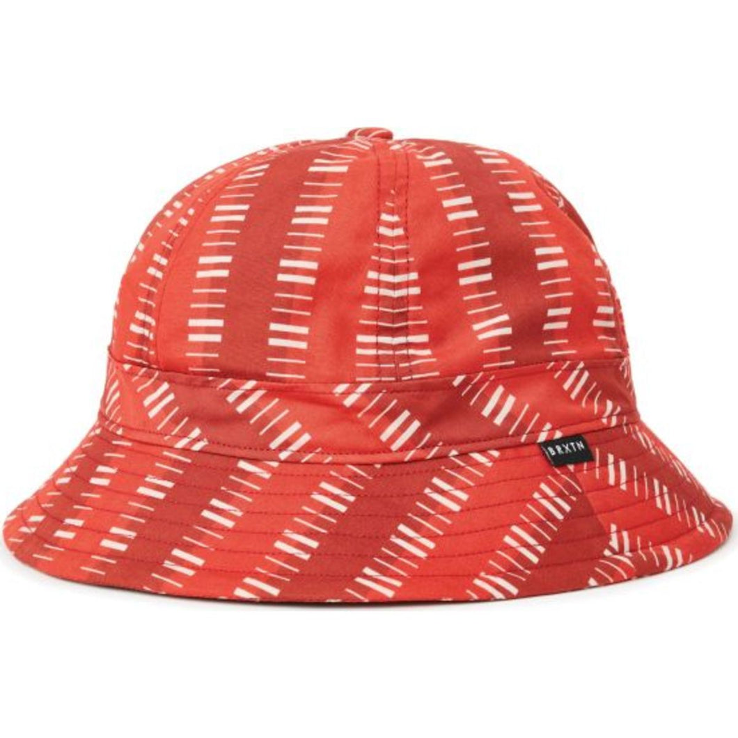 BANKS II BUCKET HAT - RED/DARK RED